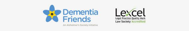 Solicitors Regulation Authority, Dementia Friends, Lexcel Legal Practice Quality Mark - Law Society Accredited